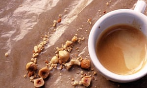 Hazlenuts and coffee