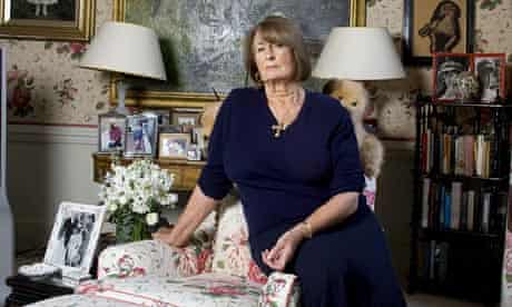 Lady Annabel Goldsmith at home in Richmond