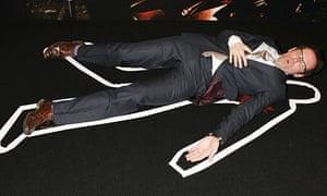 Ben Miller at Crime Thriller Awards.