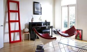 Alan Yentob's living room