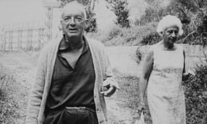 Vladimir Nabokov and his wife Vera
