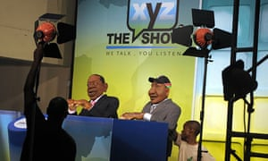 XYZ Show in its Nairobi studio