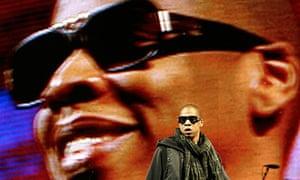 Jay-Z performs at Glastonbury