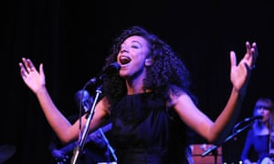 Corinne Bailey Rae live at The Tabernacle, London.