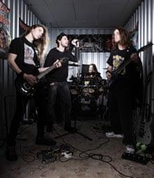 heavy metal group Seven