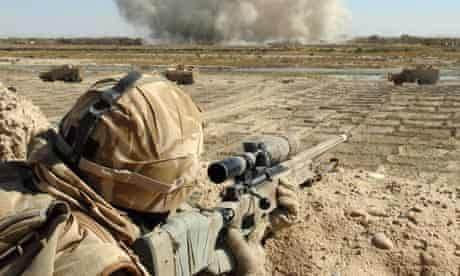 British Gurkha in Helmand