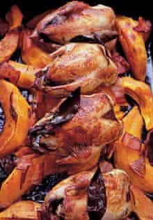 Spiced quail