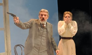 simon armstrong and alys thomas in uncle vanya