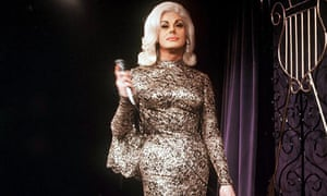 Danny La Rue on stage in 1965