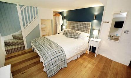 bedroom at Blas Gwyr