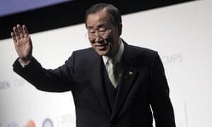Ban Ki Moon Copenhagen