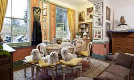 Frieda Hughes's Welsh home