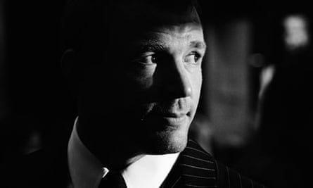 Director Guy Ritchie at the RocknRolla premiere