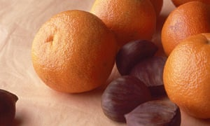 clementines and nuts