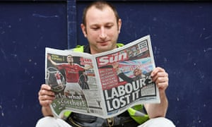 The Sun Newspaper Switches Its Support From Labour To Conservative