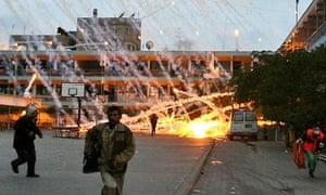 Israeli strike over a UN school in Beit Lahia