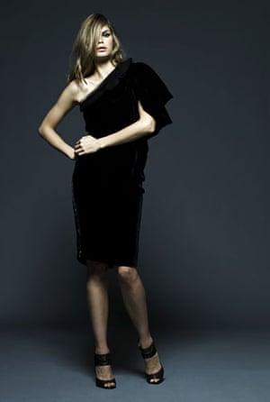 Key Trends Velvet: Model wearing velvet