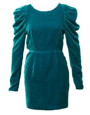 Key Trends Velvet: velvet dress