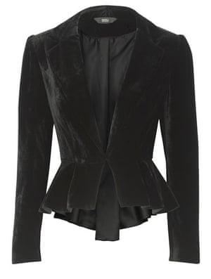 Key Trends Velvet: velvet blazer