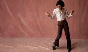 Michael Jackson, aged 21