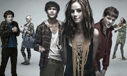 Group shot from the Channel 4 series Skins