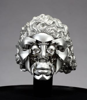 Michael Jackson's auction: robotic Michael Jackson head