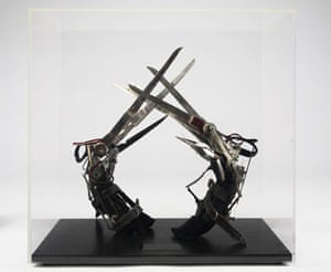 Michael Jackson's auction: Michael Jackson's 'scissorhand' gloves