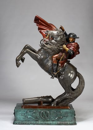 Michael Jackson's auction: Michael Jackson's Napoleon statue