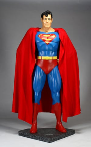 Michael Jackson's auction: Michael Jackson's Superman figure