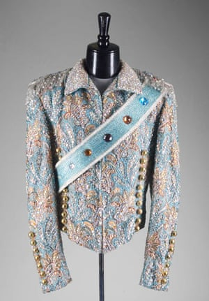 Michael Jackson's auction: Michael Jackson's Victory tour jacket