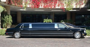 Michael Jackson's auction: Royles Royce with Interior Designed by Michael Jackson