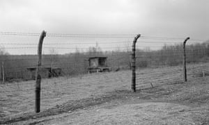 Perimeter Fence at Buchenwald, where the Rosenblat's met