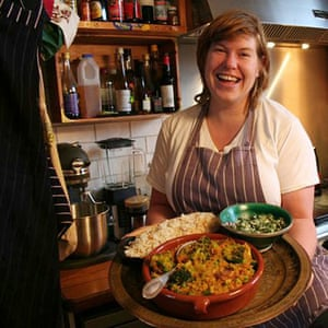 Allegra McEvedy and her warming veg curry
