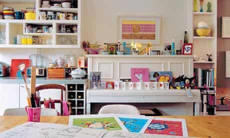 Lauren Child's kitchen