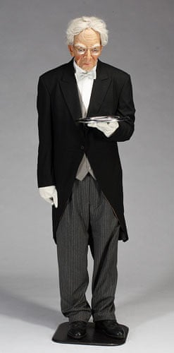 Michael Jackson auction 2: A lifesize figure of a butler