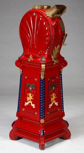 "Michael Jackson auction 2: Vintage ""clamshell"" mutoscope"