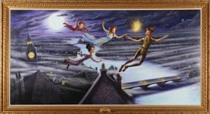 Michael Jackson auction 2: peter pan painting