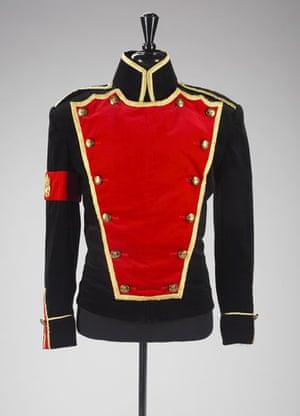 Michael Jackson auction 2: custom black velvet jacket