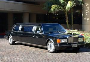 Michael Jackson auction 2: Rolls-Royce Silver Spur