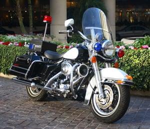 Michael Jackson auction 2: Harley Davidson Touring Motorcycle