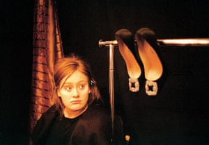 Adele in America: vogue shoes