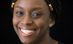 Chimamanda Ngozi Adichie at The Guardian Hay Festival