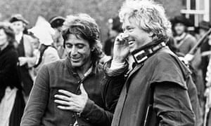 Al Pacino and Hugh Hudson