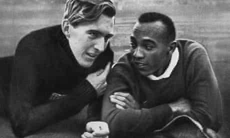 Lutz Long and Jesse Owens