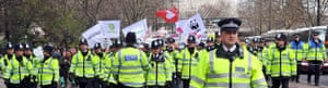 Put people first: Police clear the streets