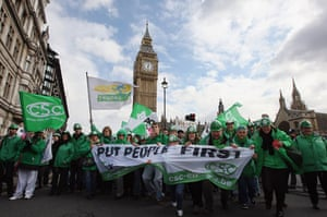 Put people first: Put People First March