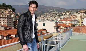 David Gandy in San Remo, Italy