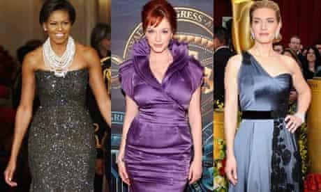 Michelle Obama, Christina Hendricks and Kate Winslet