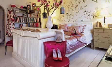 Lulu Guinness's bedroom