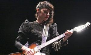 PJ Harvey performs live in Rome